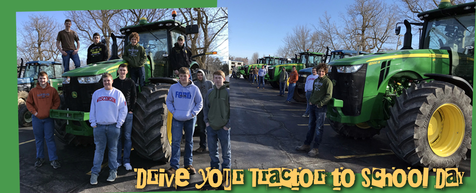 Drive your tractor day
