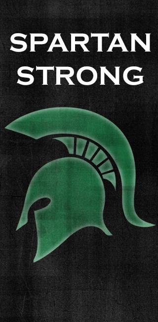 Spartan strong Banner